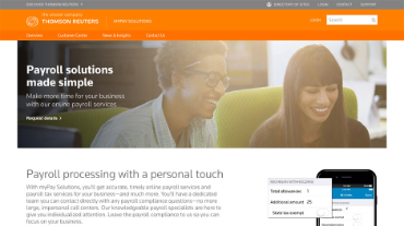 myPay Solutions home page